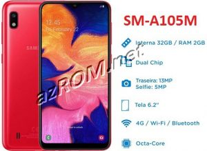 ROM A105M, FIRMWARE A105M, COMBINATION A105M