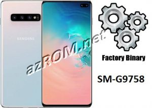Tổng hợp ROM G9758 Full File Repair Fix treo logo Samsung Galaxy S10 Plus