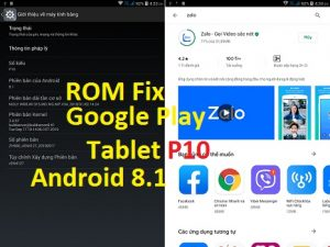 ROM Fix ZH960 Tablet P10 Add Google Play Multi Language