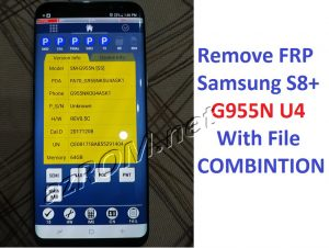 Remove FRP G955N U4 - bypass google account G955N U4