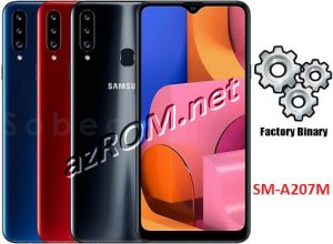 ROM A207M, FIRMWARE A207M, COMBINATION A207M