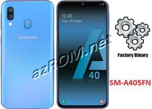 ROM A405FN, FIRMWARE A405FN, COMBINATION A405FN