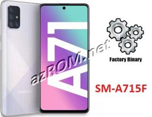 ROM A715F, FIRMWARE A715F, COMBINATION A715F