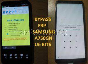 Bypass FRP A750GN U6 BiT6