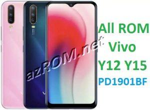 All ROM Vivo Y12 / Y15 PD1901BF - Preloader + scatter File Vivo Y15 / Y12 PD1901BF