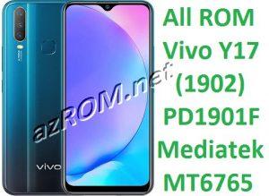 All ROM Vivo Y17 PD1901F (1902) - Preloader + scatter File Vivo Y17 PD1901F