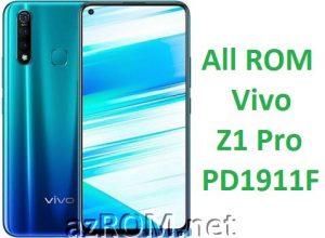 All ROM Vivo Z1 Pro PD1911F Unbrick Firmware & OTA Update Vivo PD1911F