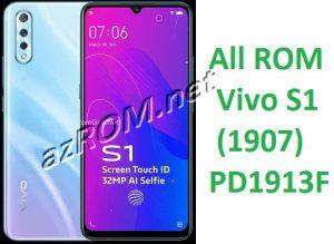 All ROM Vivo S1 PD1913F Unbrick Firmware & OTA Update Vivo (1907)