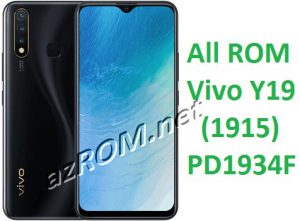 All ROM Vivo Y19 PD1934F Unbrick Firmware & OTA Update Vivo (1915)