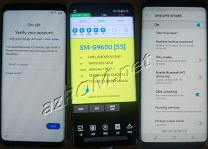 Remove FRP G960U & Bypass Google Account G960U1