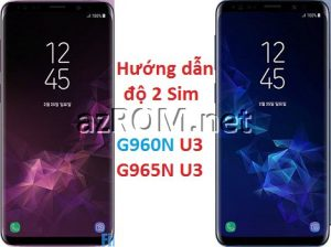 Solution Make DualSim S9 & S9 Plus U3 BiT3