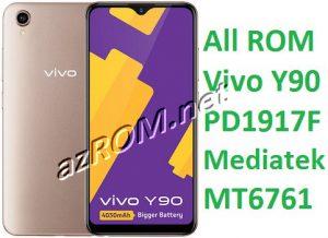 All ROM Vivo Y90 PD1917F Unbrick Firmware & OTA Update Vivo (1908)