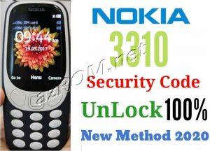 ma bao ve Nokia 3310 TA-1030, Reset lock Nokia 3310, Reset lock Nokia TA-1030, xoa mat khau Nokia 3310, xoa mat khau Nokia TA-1030