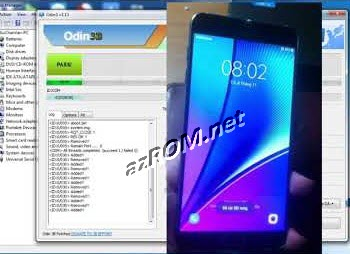 Chia Sẽ Rom Fix Full Note5 N920P và vô hiệu hóa chế độ rãnh tay