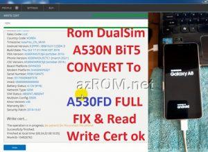 Rom 2 Sim A530N CONVERT A530FD