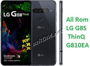 All Rom LG G8S ThinQ G810EA Official Firmware LM-G810EA