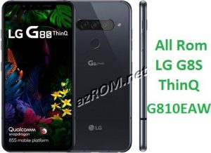 All Rom LG G8s ThinQ G810EAW Official Firmware LM-G810EAW