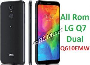 All Rom LG Q7 Dual Q610EMW Official Firmware LG LM-Q610EMW
