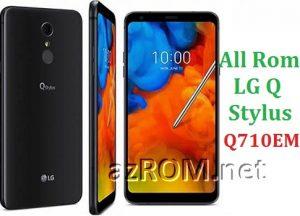 All Rom LG Q Stylus Q710EM Official Firmware LG LM-Q710EM