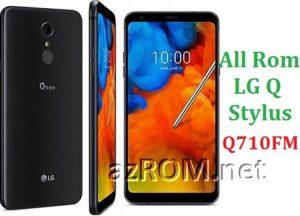 All Rom LG Q Stylus Q710FM Official Firmware LG LM-Q710FM
