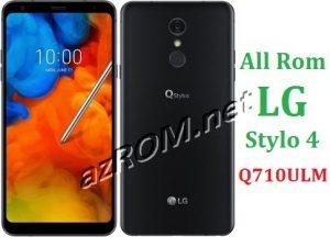 All Rom LG Stylo 4 Q710ULM Official Firmware LG LM-Q710ULM