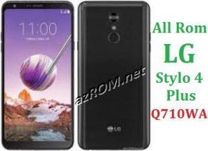 All Rom LG Stylo 4+ Q710WA Official Firmware LG LM-Q710WA