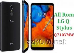 All Rom LG Q Stylus Q710YMW Official Firmware LG LM-Q710YMW