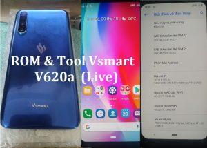Unbrick Firmware Vsmart V620A - Stock ROM & Tool Flash Vsmart Live