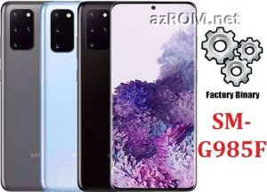 ROM G985F, FIRMWARE G985F, COMBINATION G985F, ENG FILE G985F, AP+BL+CP+CSC G985F