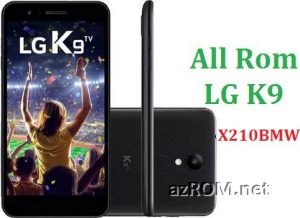 All Rom LG K9 TV X210BMW Official Firmware LG LM-X210BMW