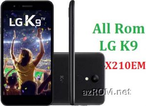 All Rom LG K9 X210EM Official Firmware LG LM-X210EM
