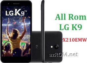 All Rom LG K9 X210EMW Official Firmware LG LM-X210EMW