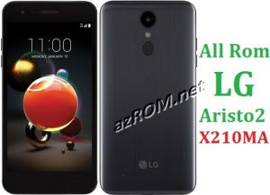 All Rom LG Aristo 2 X210MA Official Firmware LG LM-X210MA