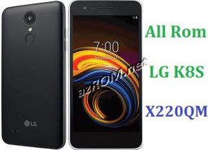 All Rom LG K8S X220QM Official Firmware LG LM-X220QM