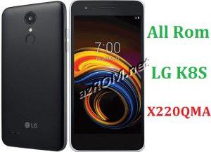 All Rom LG K8S X220QMA Official Firmware LG LM-X220QMA