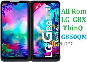 All Rom LG G8X ThinQ G850QM Official Firmware LG LM-G850QM
