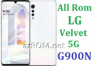 All Rom LG Velvet 5G korean G900N Official Firmware LG LM-G900N