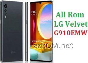 All Rom LG Velvet 4G Dual Sim G910EMW Official Firmware LG LM-G910EMW