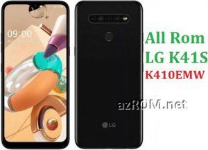 All Rom LG K41S K410EMW Official Firmware LG LM-K410EMW