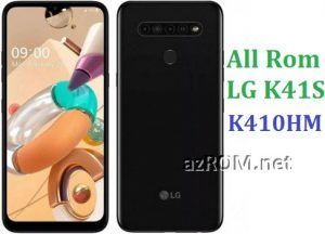 All Rom LG K41S K410HM Official Firmware LG LM-K410HM