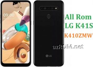 All Rom LG K41S K410ZMW Official Firmware LG LM-K410ZMW
