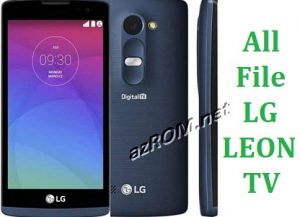 All File & Rom LG LEON TV Repair Firmware New Version