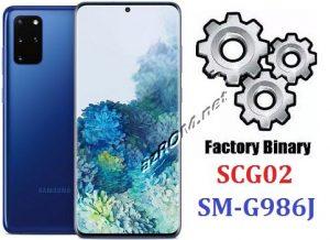 ROM SCG02, FIRMWARE SM-G986J, COMBINATION SCG02, ENG FILE SM-G986J, AP+BL+CP+CSC SCG02