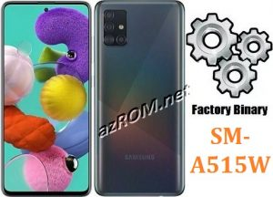 ROM A515W, FIRMWARE A515W, COMBINATION A515W, ENG FILE A515W, AP+BL+CP+CSC A515W