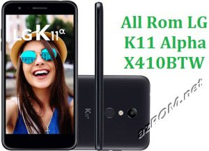 All Rom LG K11 Alpha X410BTW Official Firmware LG LM-X410BTW