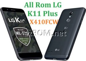 All Rom LG K11+ X410FCW Official Firmware LG LM-X410FCW