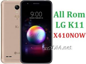 All Rom LG K11 X410NOW Official Firmware LG LM-X410NOW
