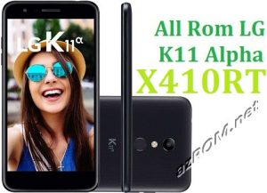 All Rom LG K11 Alpha X410RT Official Firmware LG LM-X410RT
