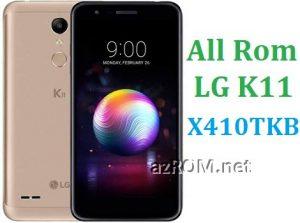 All Rom LG K11 X410TKB (X410TK) Official Firmware LG LM-X410TKB (LM-X410TK)