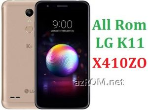 All Rom LG K11 X410ZO Official Firmware LG LM-X410ZO